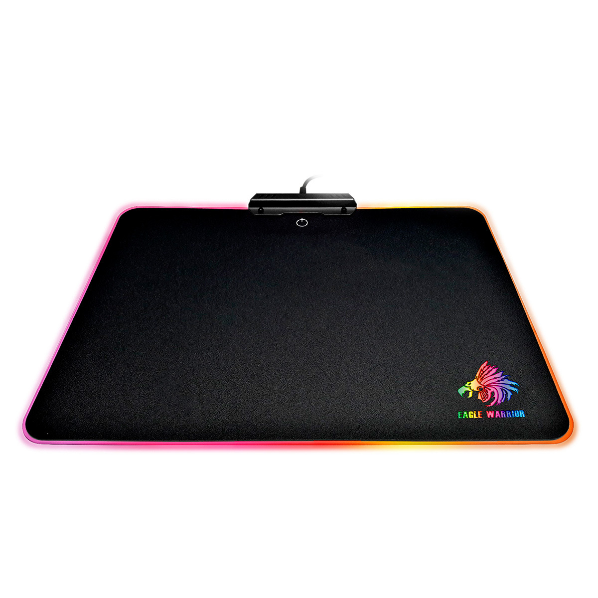 Mouse Pad Gamer Eagle Warrior Olympia / Negro / USB